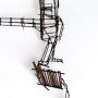 Jean Lascoumes, sculpture métal