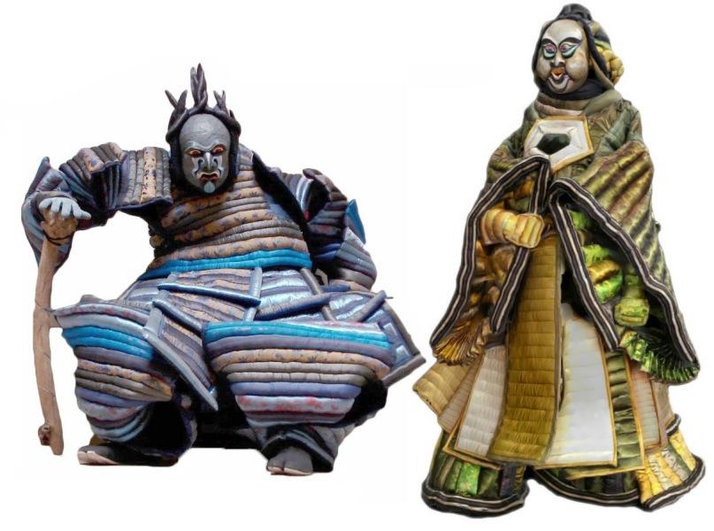 Histoire de Buffle-Le Nain Bossu et Bo-Kan le gros